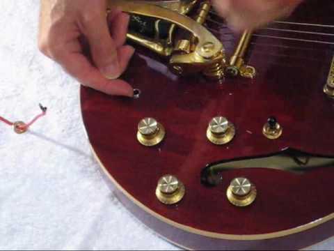 How to Repair the Jack In Semi-Hollow Body Guitar