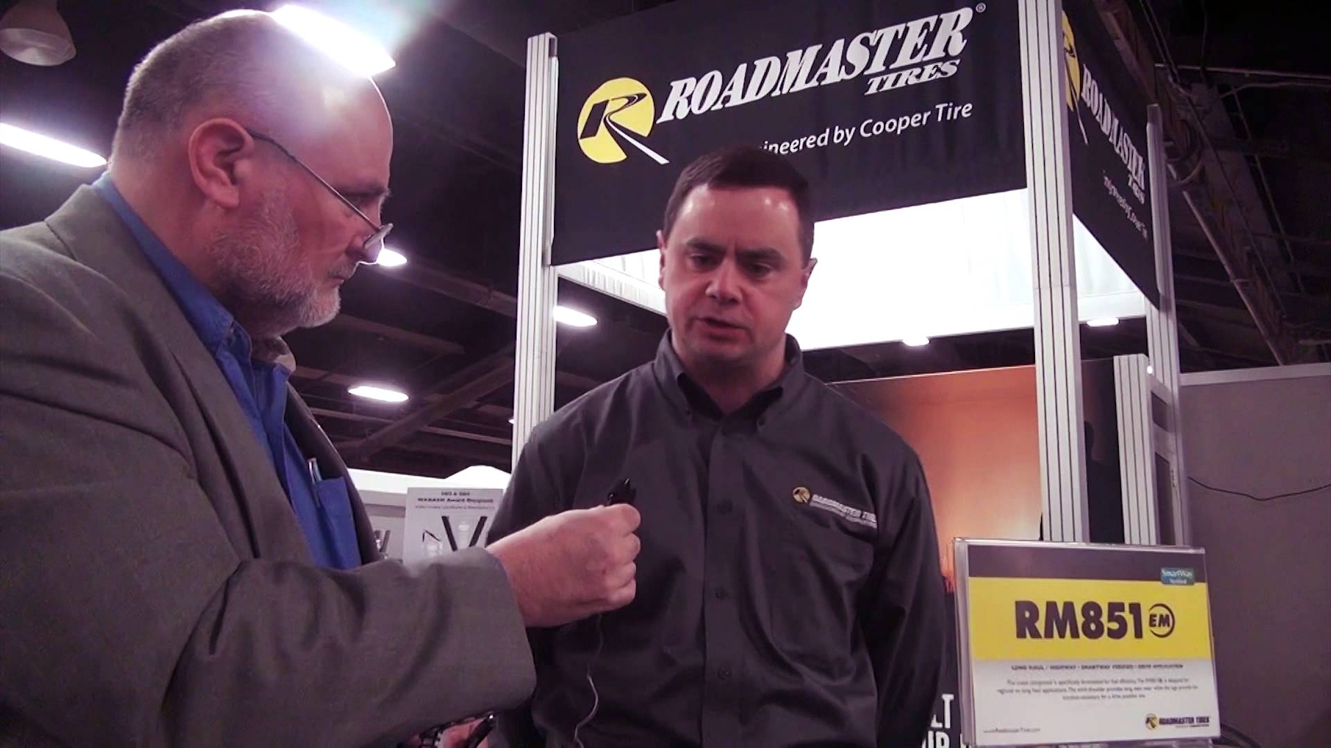New Roadmaster tires, tools debut at MATS 2014