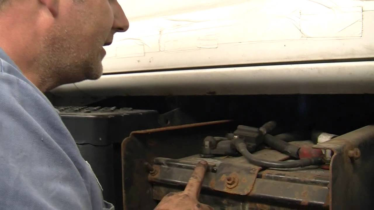 Oil Change for a Big Truck