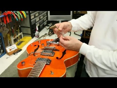 Rewiring a Semi-Hollow-Body Guitar : Guitar Building & Repair