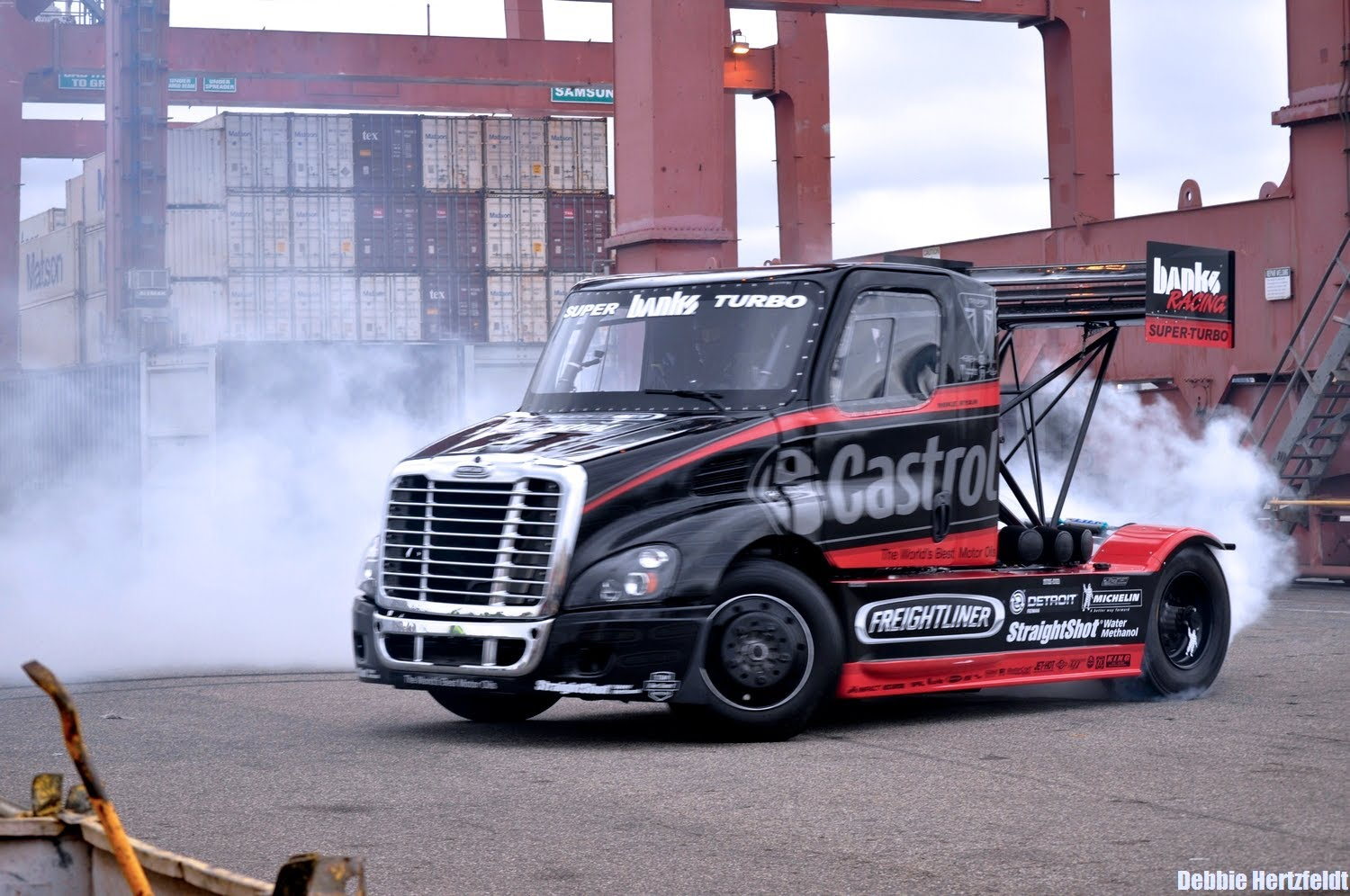 SIZE MATTERS 2 - Mike Ryan's Pikes Peak Castrol Oil Freightliner Race Truck