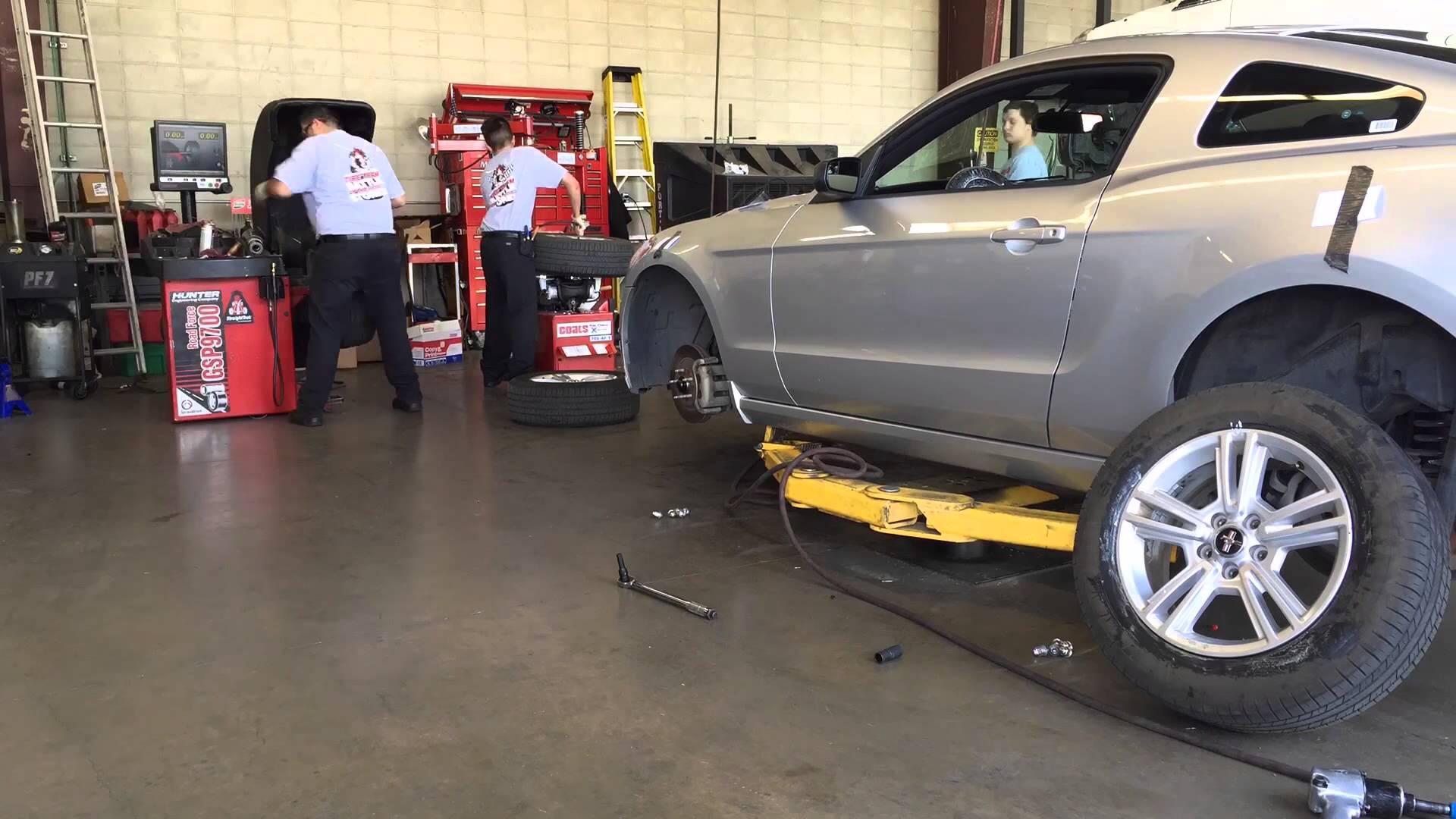 Tire Team Battle of Big Brand Tire & Service Stores III