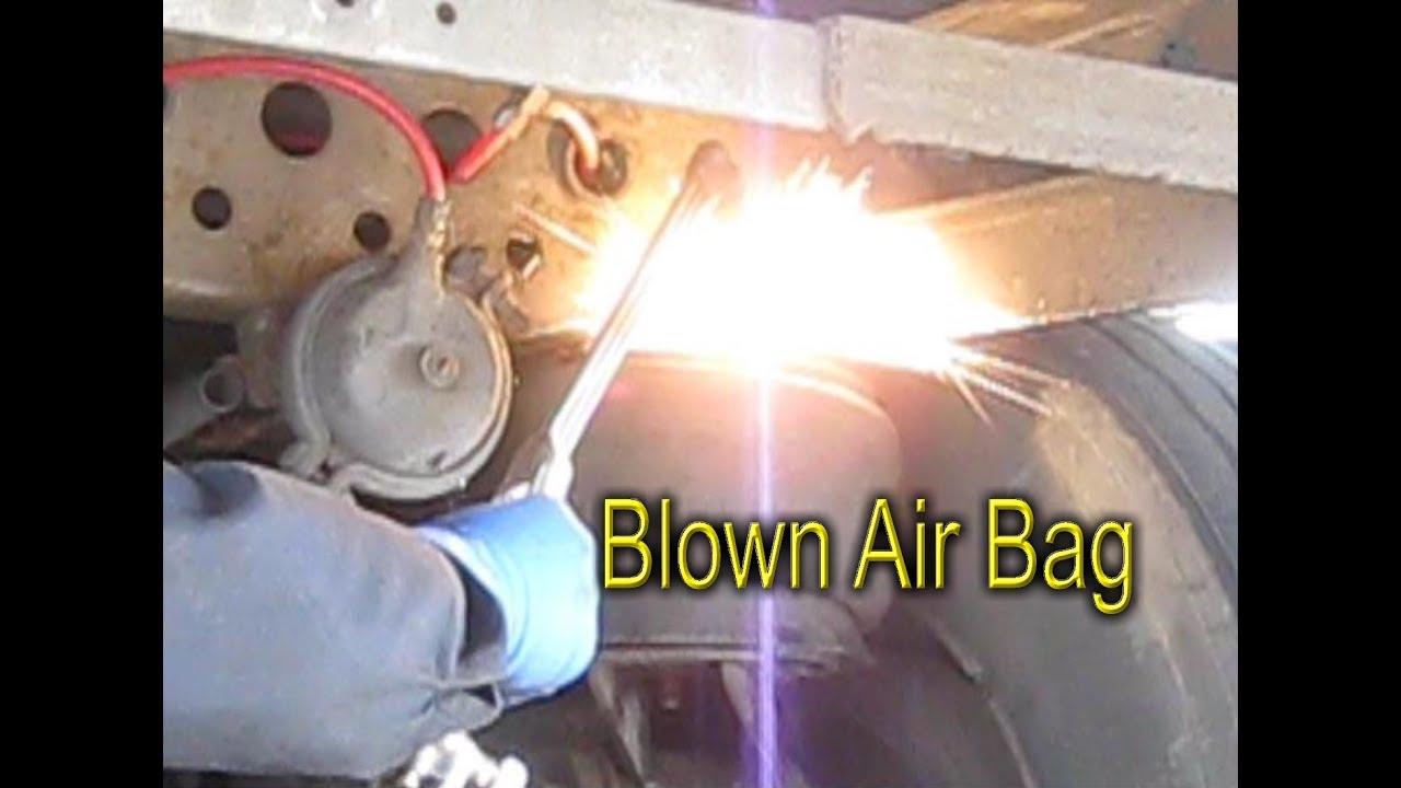 What happens if Air Bag leak Wabash Trailer
