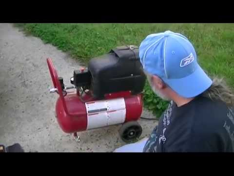Coleman PowerMate 6 Gallon Air Compressor Repair, Part 2