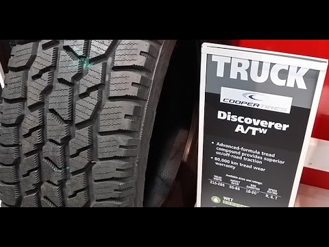 COOPER DISCOVERER A/Tw TIRES for a Dodge RAM 1500