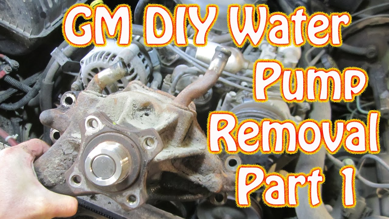 DIY - 98 K1500 Silverado Vortec Water Pump Replacement - How to Remove a Water Pump