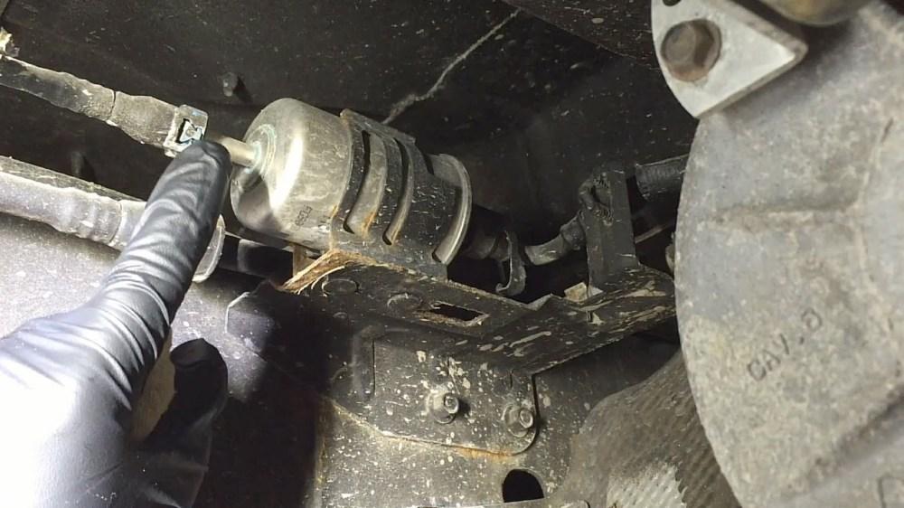 medium resolution of 2009 f350 diesel fuel filter change