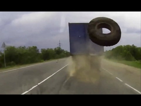 TIRES ON THE LOOSE! || Ultimate Dash Cam Fails Compilation