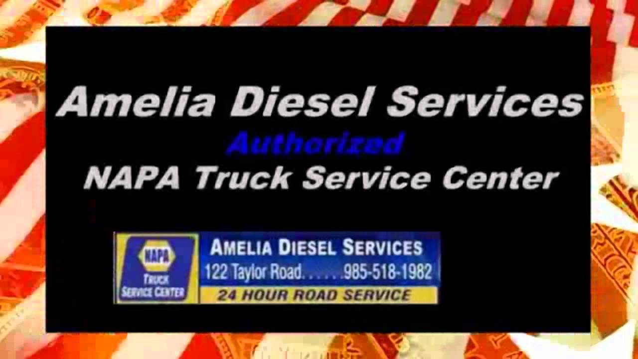 Truck and Tire Repair 24 Hour Roadside Service | Amelia Diesel Services Franklin, LA