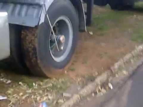 Truck tires - Brazil's size.