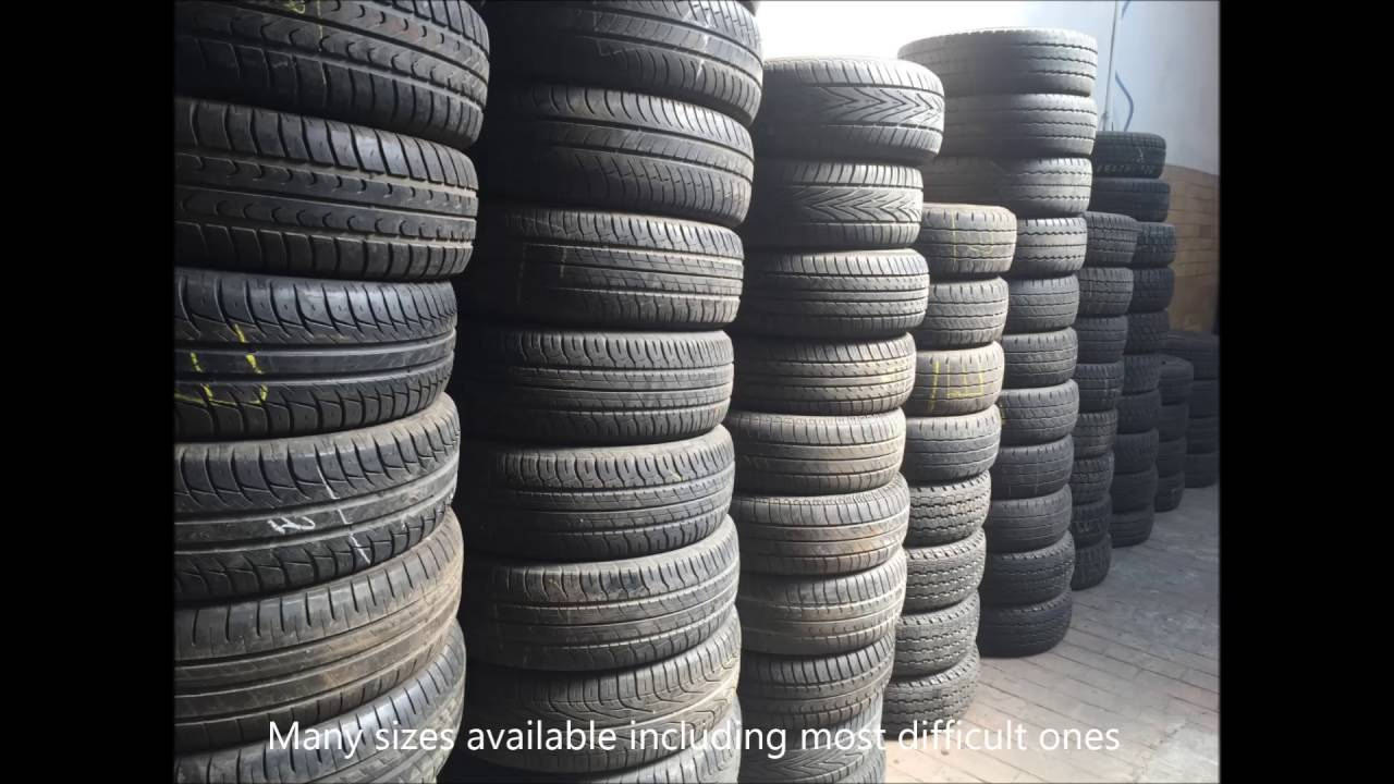 Coton - Used Tyre Export and Import