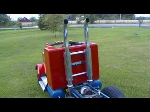 mini kenworth truck
