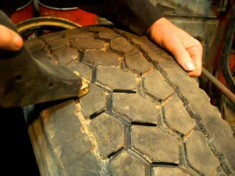 Regrooving Truck Tires