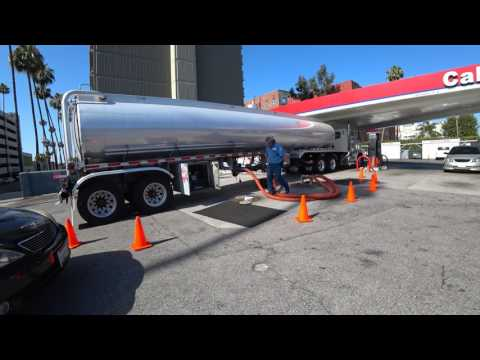 semi truck diesel fuel delivery