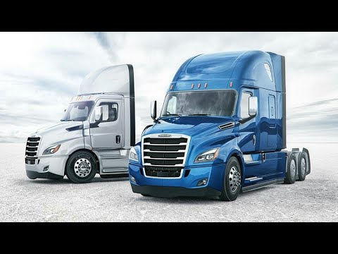 Freightliner Cascadia 2018 - Mini Bedroom on the Road (LUXURY TRUCK) | NEW CASCADIA Full Review