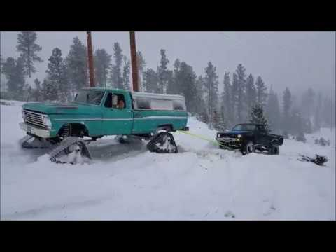 Tracks vs. Tires in Snow