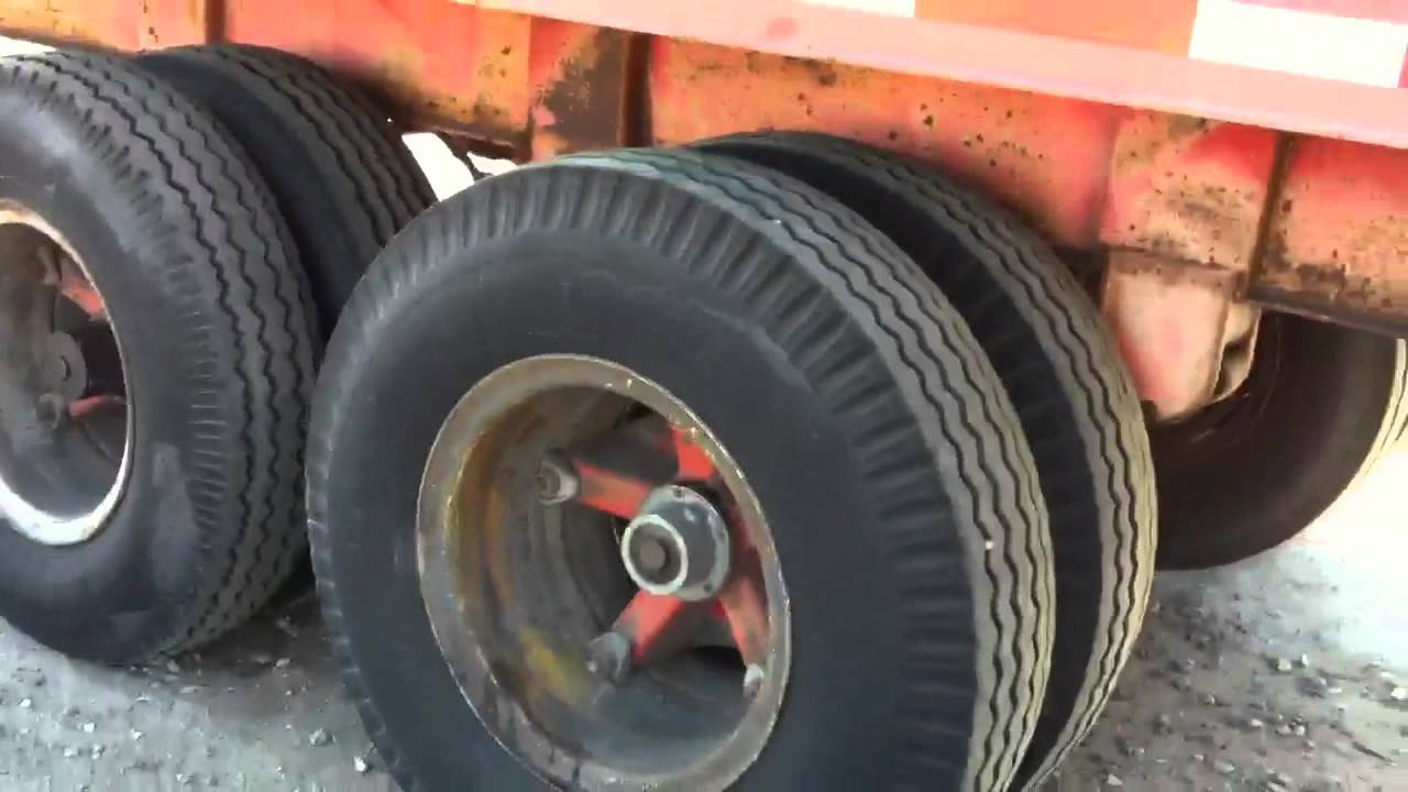DOT trailer inspection