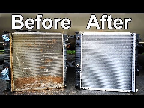 semi truck radiator repair
