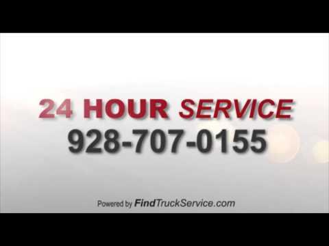 roadside semi truck tire repair