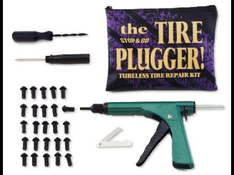 Stop n Go Tire Plug Gun Kit