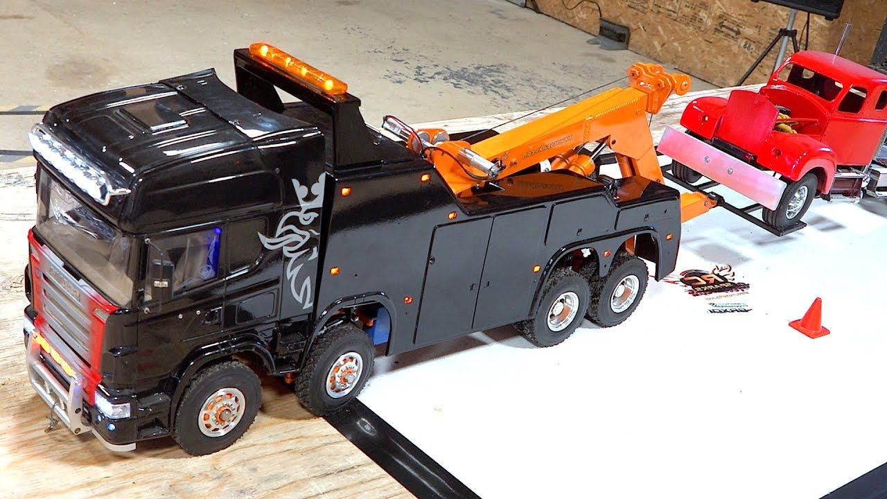 4 Years Later, I FINALLY FIXED IT! Scania 8x8 Recovery Tow Truck Comes Back to Life | RC ADVENTURES