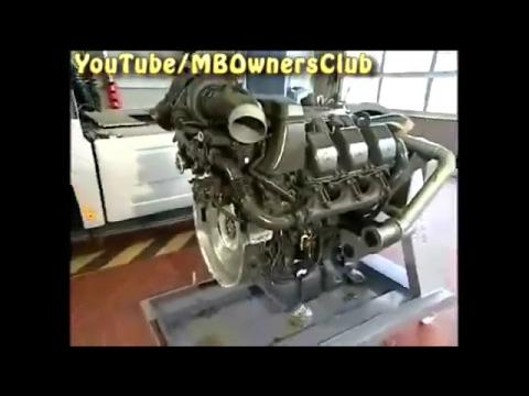 Mercedes Benz Actros | Remove/install compressor