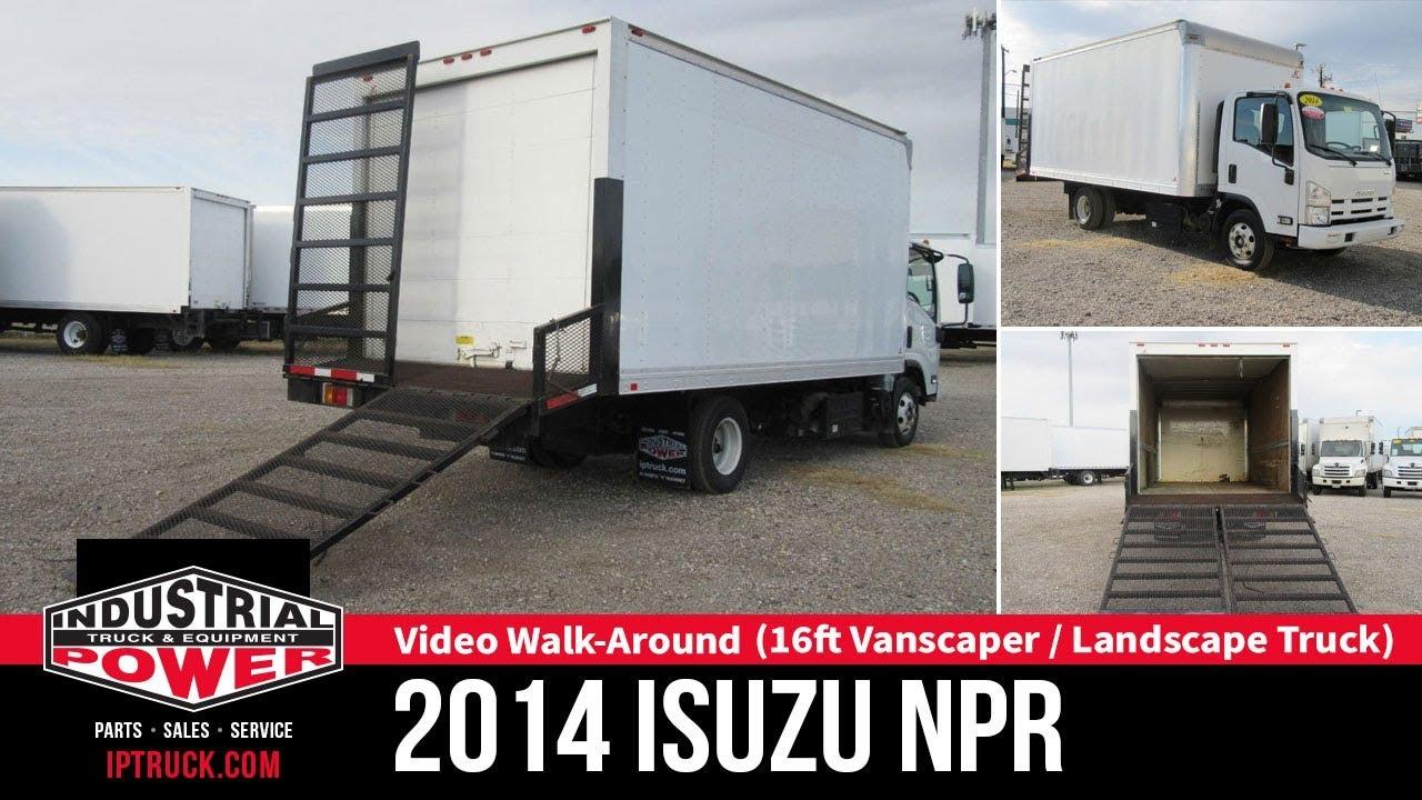 2014 Isuzu NPR (16ft Landscape Truck Vanscaper) | IP Truck