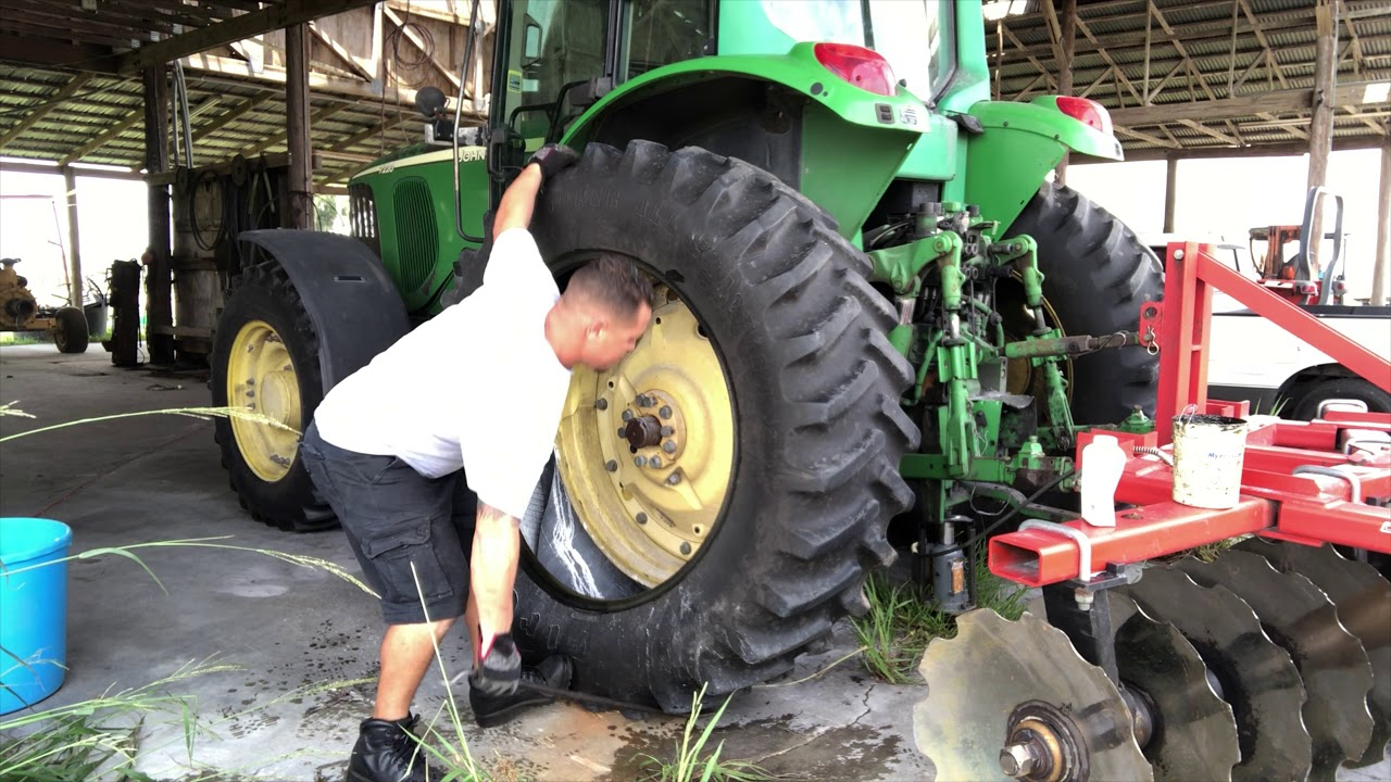Tractor Tire Repair 18.4-38 (Instructional) Part 2