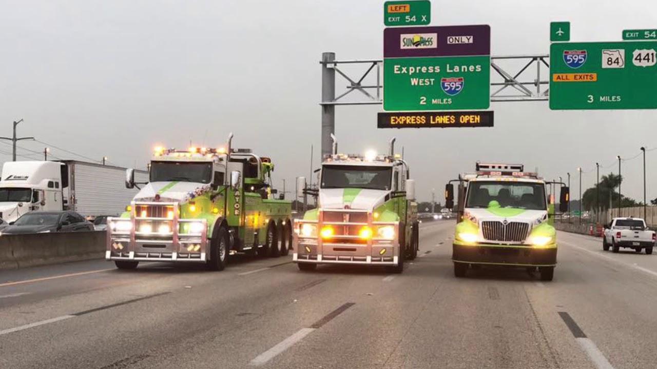 Managing Florida's Highways : 2 Heavy-Duty Rotator Calls in 24 Hours