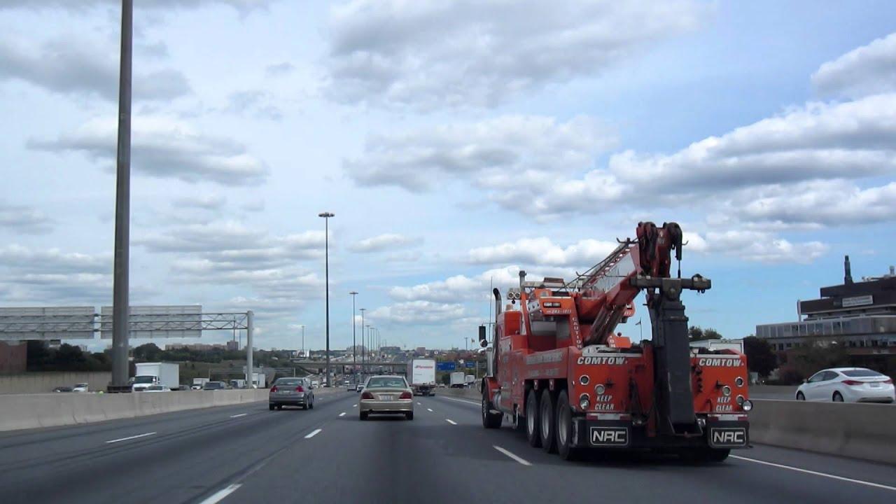 Heavy Duty Tow Truck on 401