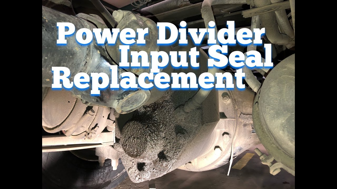Power Divider Input Seal Replacement