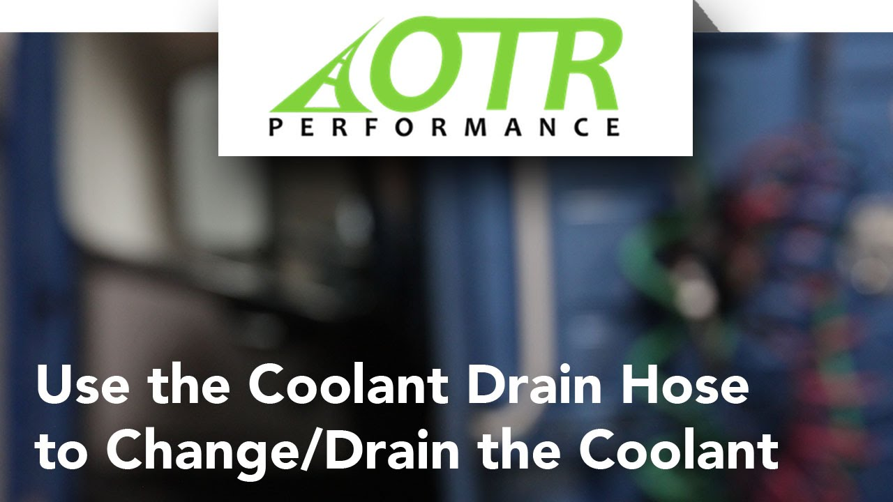 Volvo & Mack Truck Coolant Drain Hose, Learn how to drain (D12 D13 D16 ISX MP7 MP8 MP10)