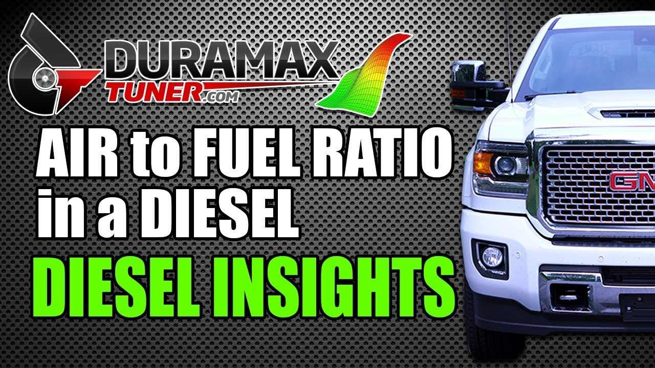 Air to Fuel Ratio in a Diesel