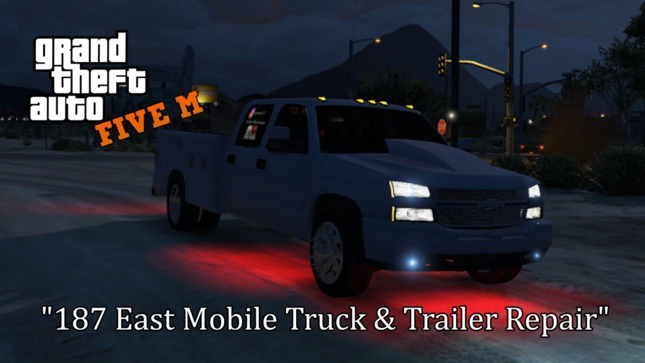 GTA 5 ROLEPLAY | 187 EAST MOBILE TRUCK & TRAILER REPAIR IS BORN! | AMERICAN FORCE GAMING