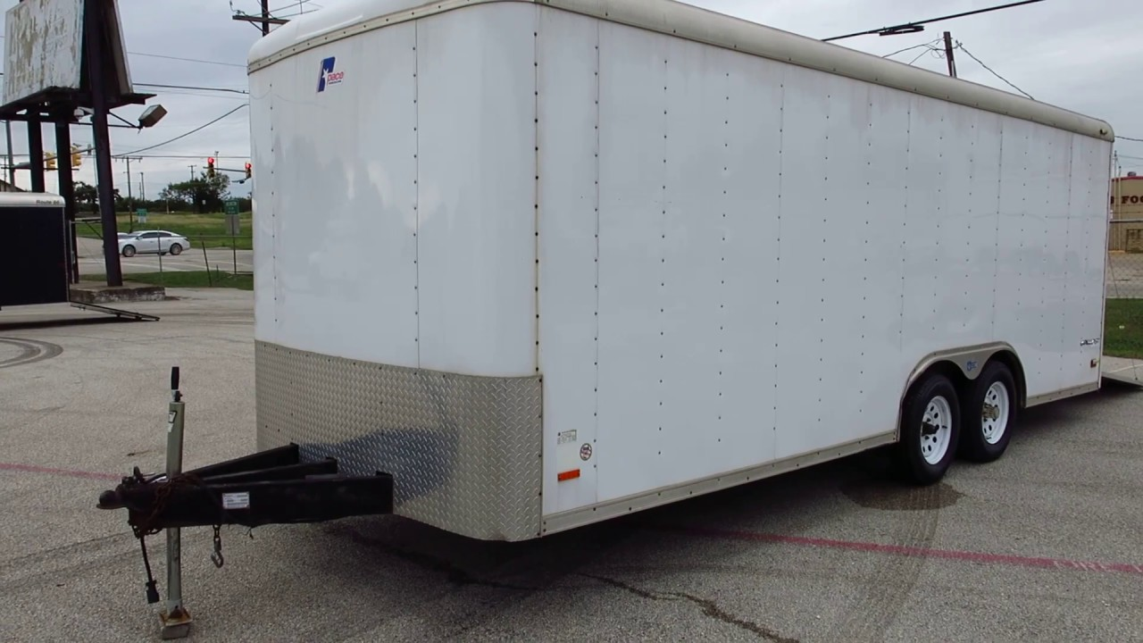 2008 Pace 20' cargo Trailer, ramp door, new tires, redy to haul your atv's, motorcycles or?