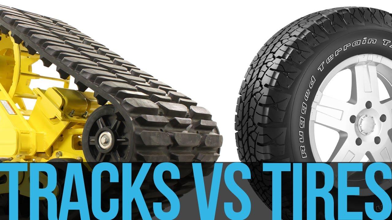 Mattracks - Tracks vs Tires