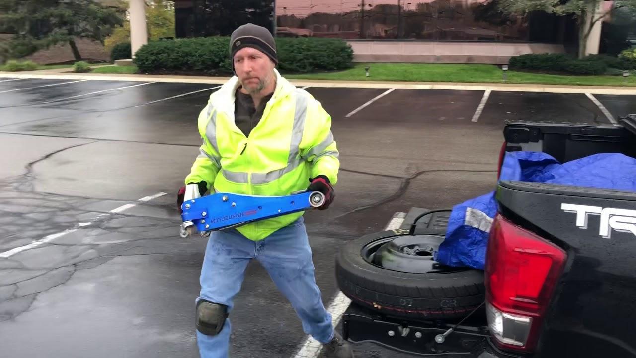 The Fastest Roadside Guy Alive-casual under 5 minute tire change-Roadside Assistance