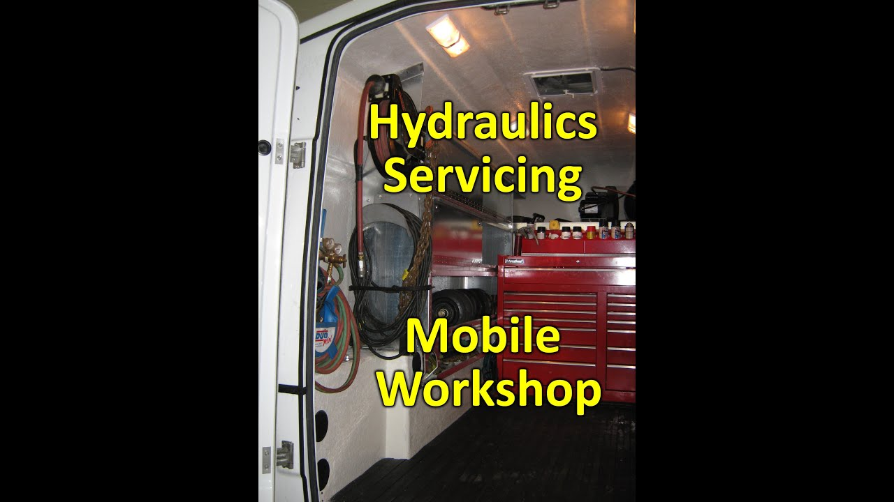 Hydraulics Mobile Workshop Truck Bodies from Master Truck Body