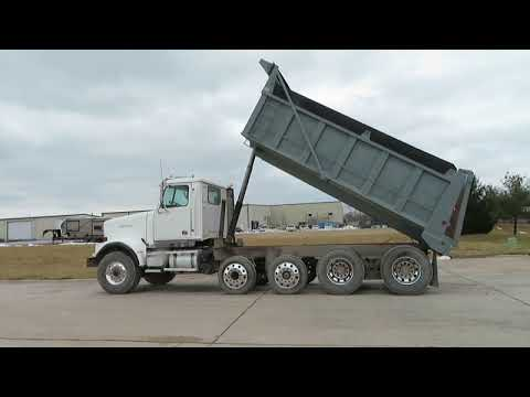 2004 Western Star 4900FA dump truck for sale at auction   bidding closes February 28, 2019