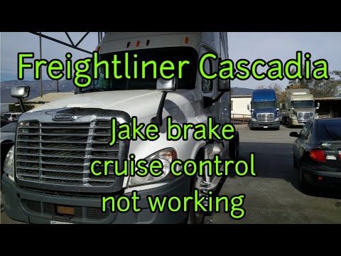 Freightliner Cascadia DD13 DD15 cruise control jake brake not working clutch switch replacement