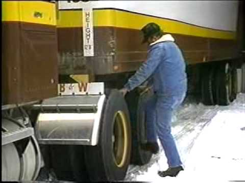 Truck Drivers - Winter Driving Safety Tips