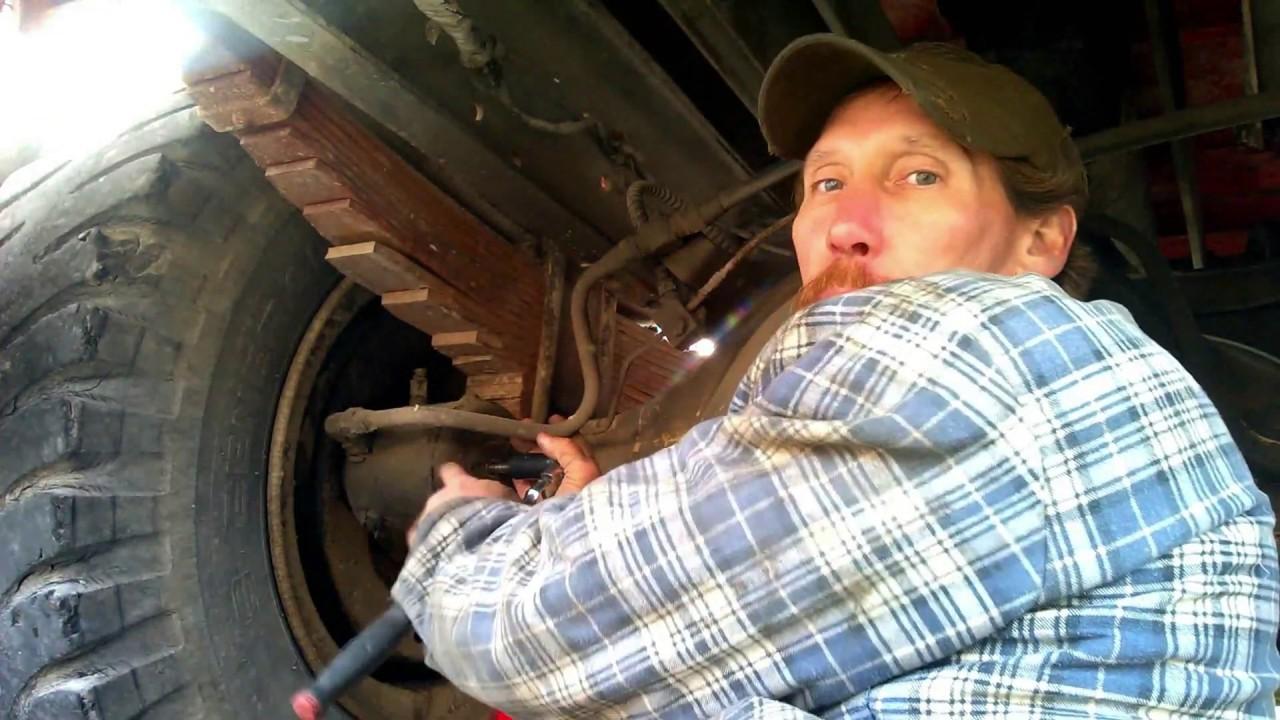 Paraplegic & F700 Dump Truck with Lucas Girling Brake system and Dayton Wheels Hyper speed version