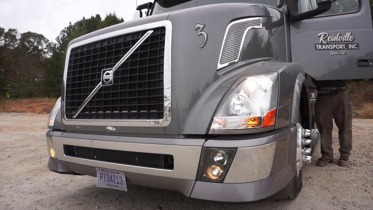 How to change semi truck headlights (complete)