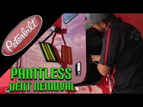 large semi truck repair