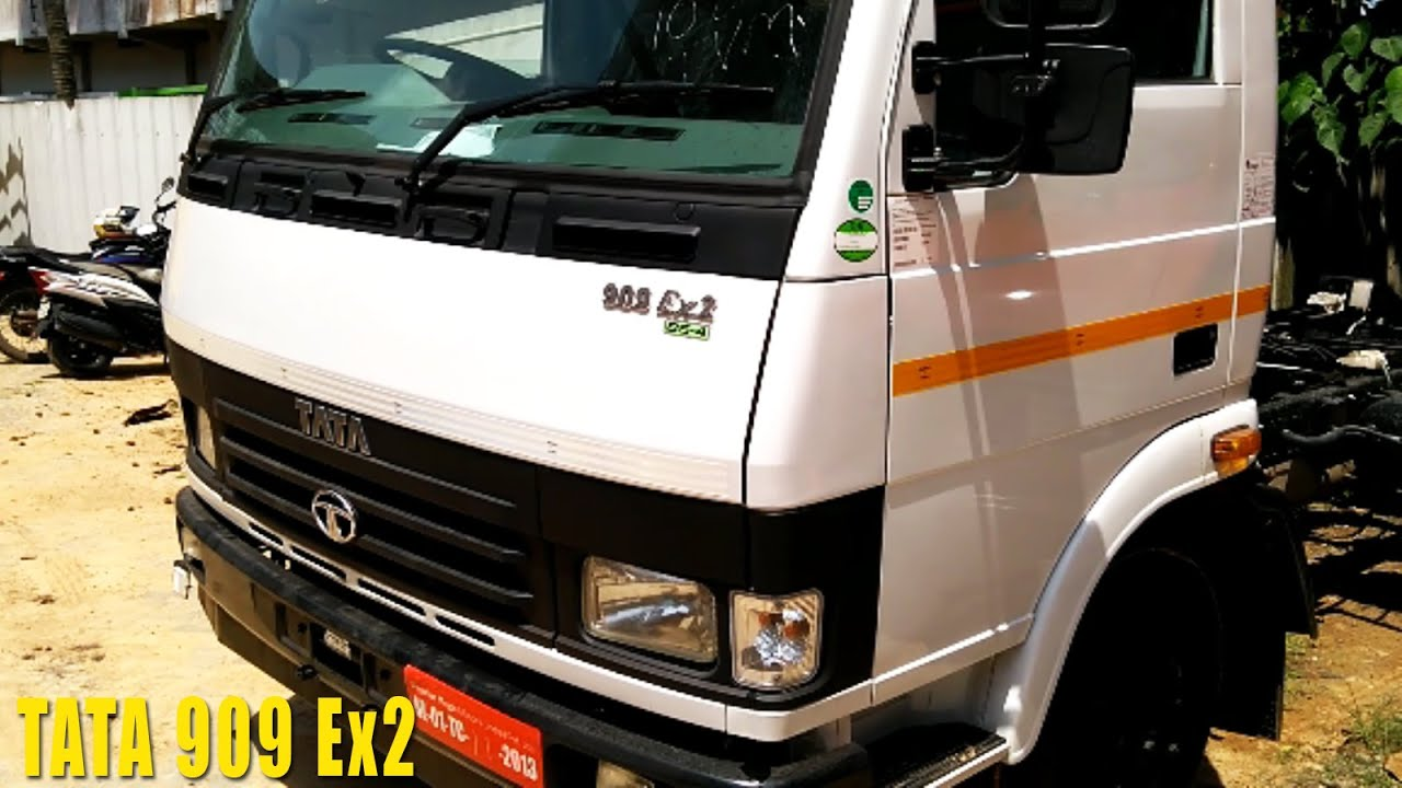 Tata 909 Ex2 Truck with 6 Tyres, 6700 Kg Payload Capacity, Ex-showroom Price, Mileage, Specs