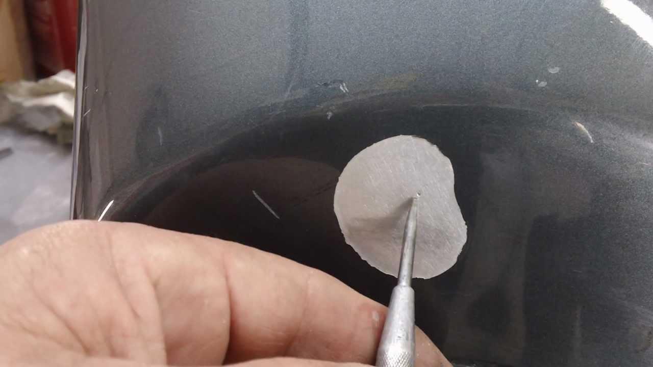 Milogarage Cyclepaint Ops Aluminum fuel tank fix
