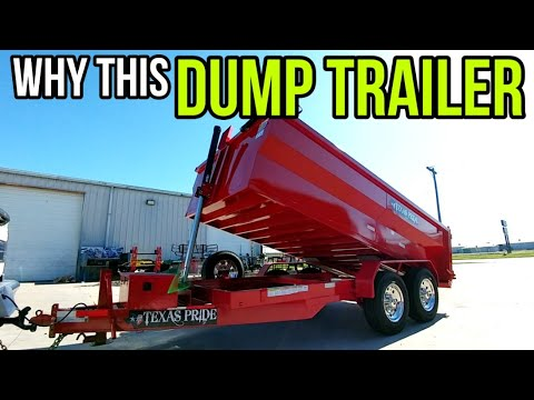 WHY Texas Pride Dump Trailer over the other brands! Find out!