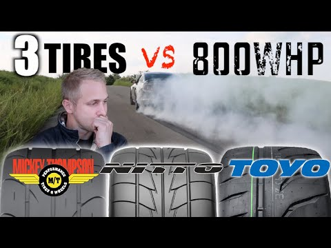 Whats the Best Street Tire for traction 600hp - 900hp TEST