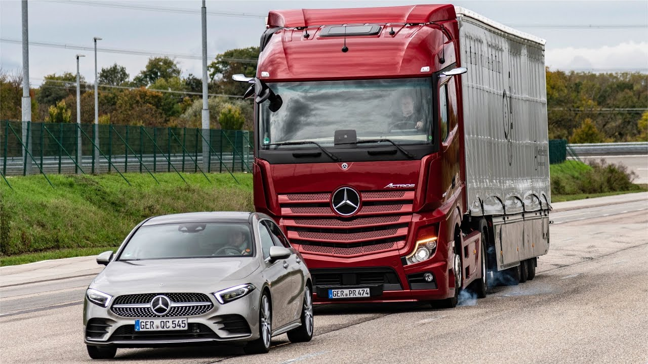 2020 Mercedes Actros -The BEST SAFETY TRUCK (Assistance Systems)