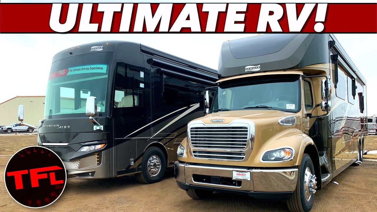 Semi Truck RV or Tour Bus? One Of These $600,000+ Motor Homes Is the Ultimate Land Yacht!